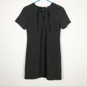 Lucca Short Sleeve Dress Black Size Extra Small